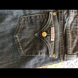 Hudson classic bootcut jeans size 30 🦋